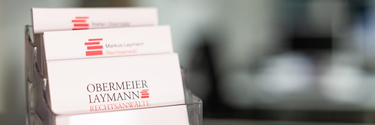Kanzlei Obermeier Laymann München